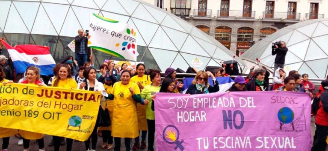 Las trabajadoras empleadas del hogar y cuidados estamos en pie de lucha