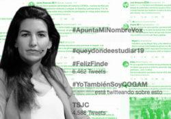 """#VoxApuntaMiNombre contra las """"listas negras"""" de activistas LGBTI"""