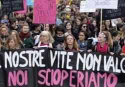 El movimiento feminista italiano exige a los sindicatos que convoquen huelga general el 9 de marzo