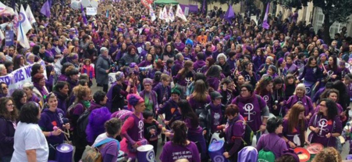 Verín fue el comienzo de una semana de movilizaciones en Galicia de cara al 8M