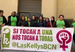 """Las Kellys: """"La vida es más que urgente. No vamos a esperar a la agenda ministra de 2.030"""""""