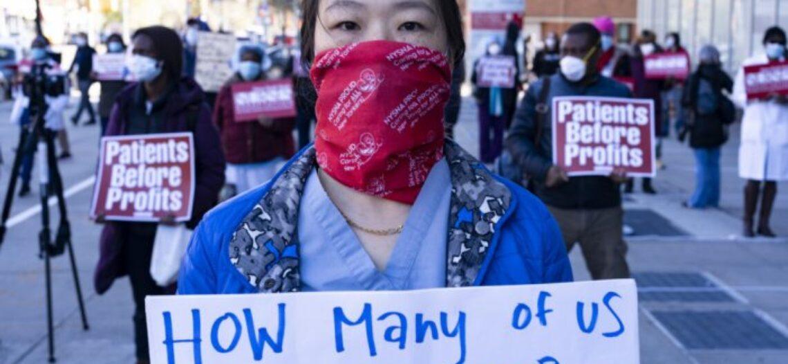 Dones en la primera línia de la crisi sanitària i en el combat contra el capitalisme patriarcal i racista!