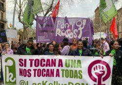 25N: En la primera línea contra las múltiples violencias del sistema patriarcal y capitalista