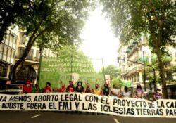 Manifestaciones en todo el mundo contra la violencia machista y los femicidios
