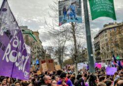 Manifestacions amb aforament per al 8M a Cataluna, una qüestió sanitaria?