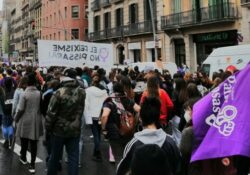 Barcelona 8M: huelga estudiantil y manifestación