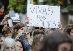 Todas a las calles contra la violencia machista: ¡Ni una menos, vivas nos queremos!