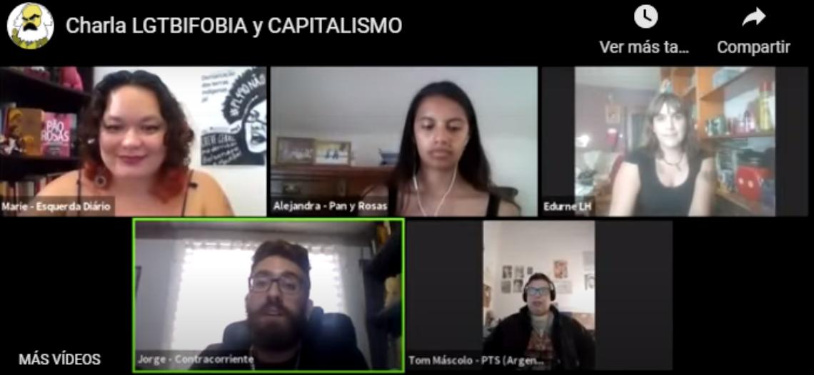 VÍDEO Charla-Debate: LGTBIfobia y capitalismo