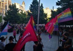 Zaragoza: a las calles contra la LGTBIfobia y la represión del gobierno